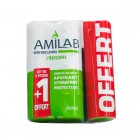 LABIO DE CUIDADO AMILAB DUO 2 X 3, TUBO 6 ML + 1 DISPONIBLES